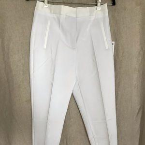 Zara white tuxedo pants, size small, NWT